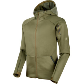 Mammut Logo ML Hooded Jacket Men olive melange